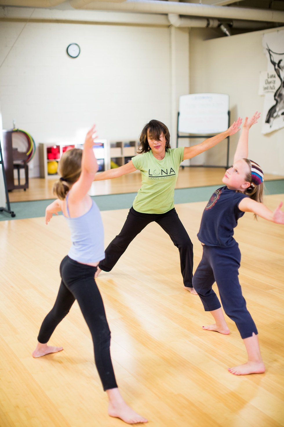 Childrens dance: features and specificity