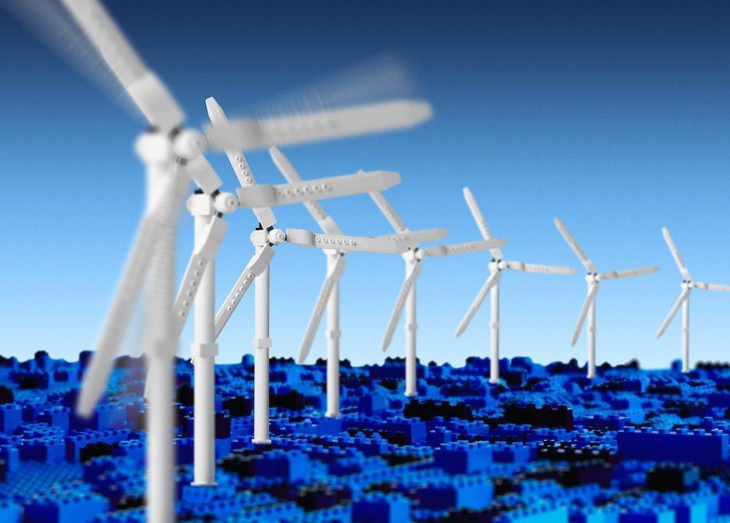 photo image LEGO Smashes 100% Renewable Energy Goal