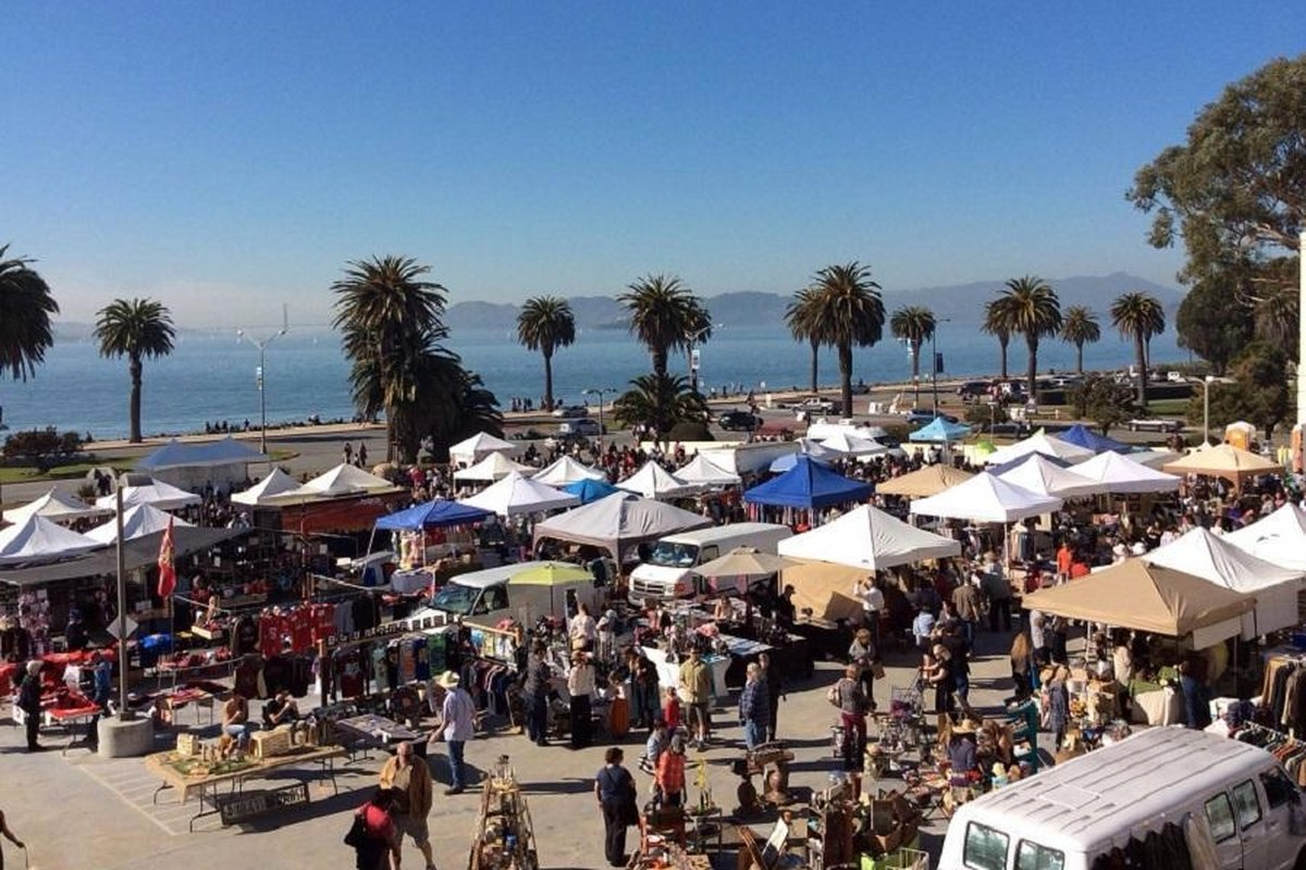Find Your Treasure at One of 6 Great Flea Markets in the Bay