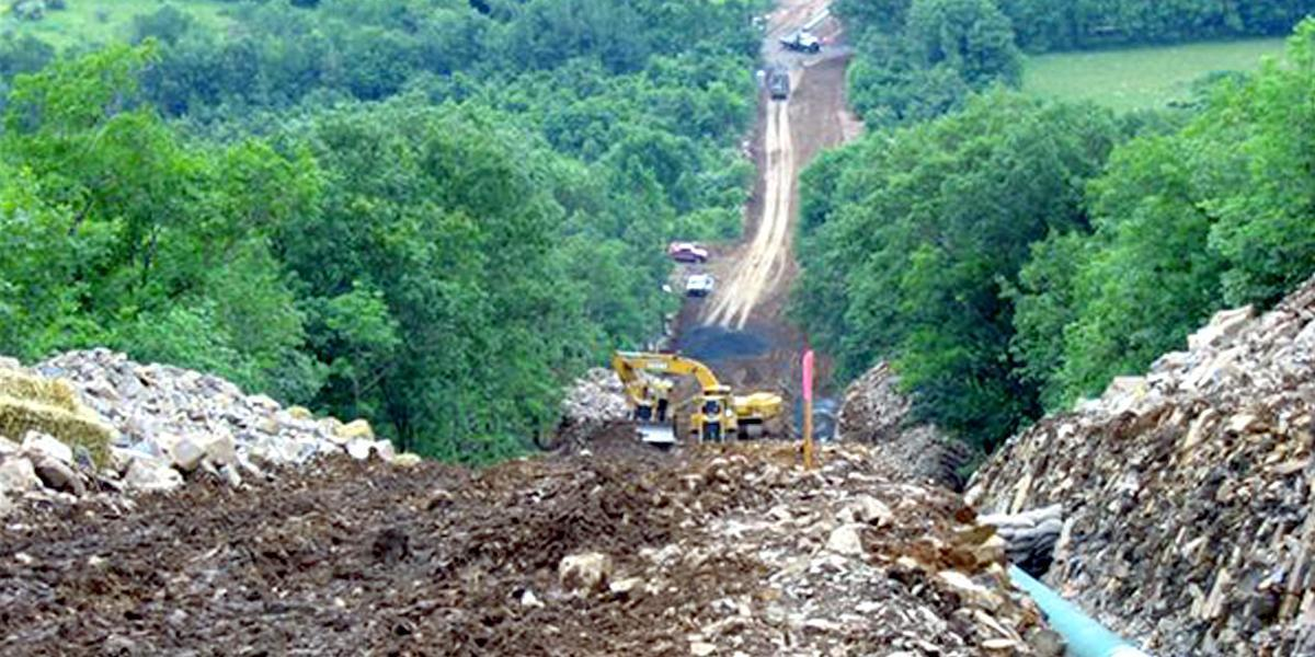 photo image 6 Banks Behind the Mountain Valley Pipeline