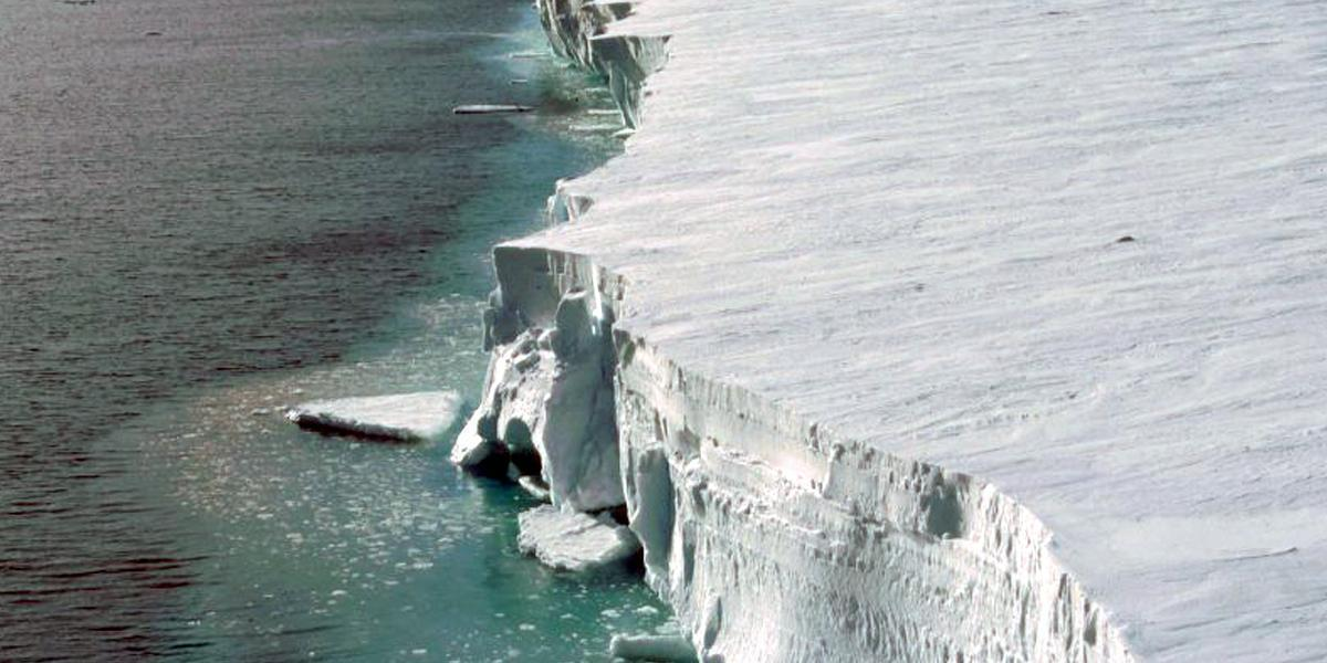 Antarctic Warming Threatens World's Second Largest Ice Shelf