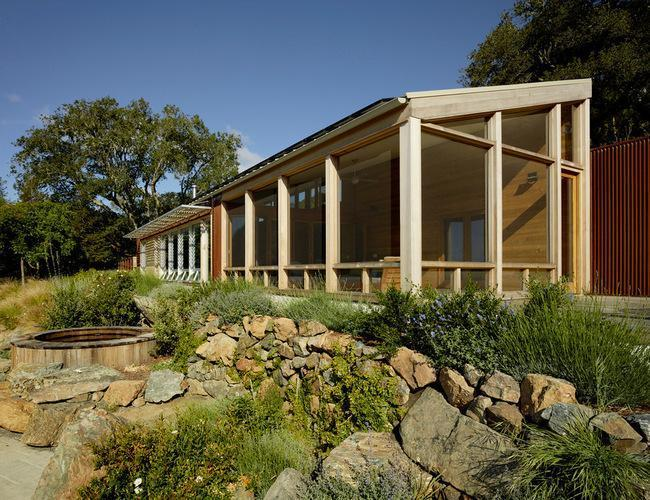 A Vintage Log Cabin in Sonoma Gets an Awesome Modern Makeover - 7x7 on