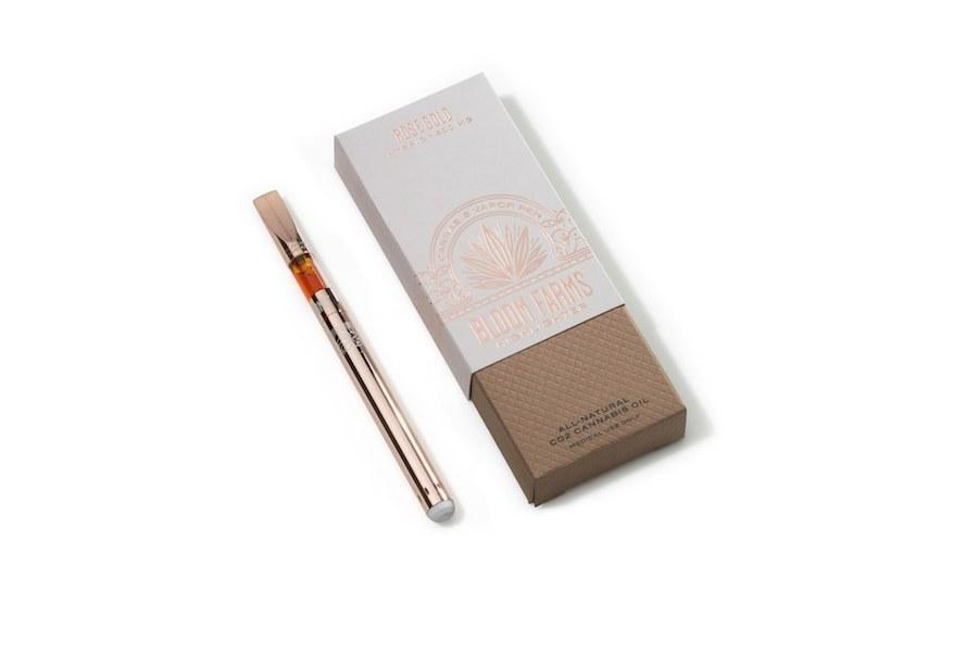 Bloom Farm's New Rose Gold Vape Pen