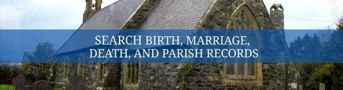 Search Irish Parish Registers