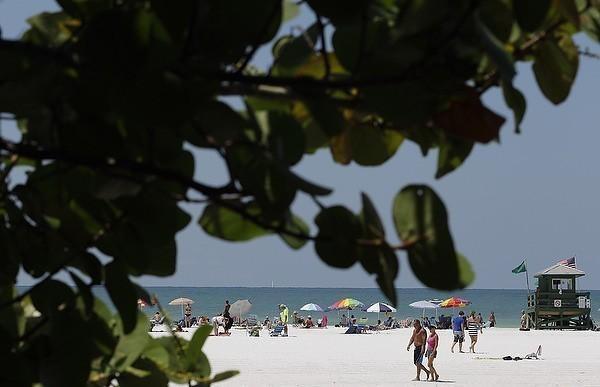 No. 1: Siesta Beach, Sarasota, Fla.