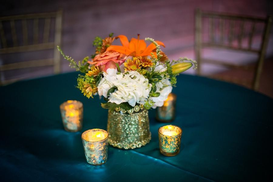 Wedding Inspiration A Marriage Of Colors And Textures At