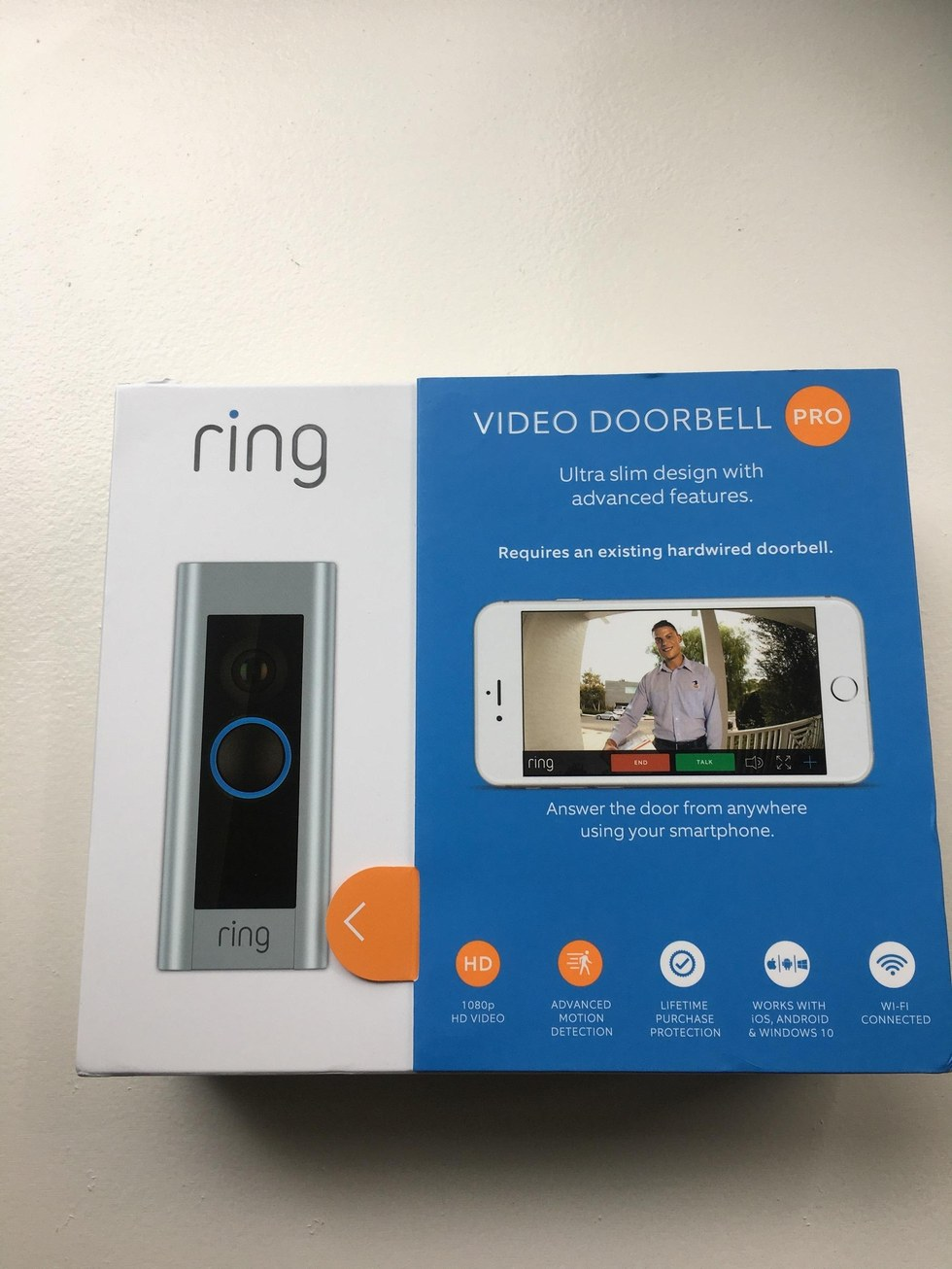 Ring Video Doorbell Pro Wired: Review Ring Video Doorbell Pro A Powerful Smart Home Device - Gearbrainrh:gearbrain.com,Design