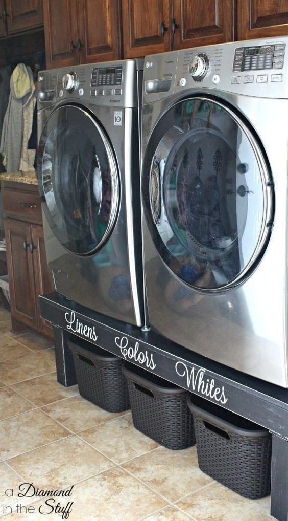 11 Tipps Und Lifehacks Für Eine Perfekt Organisierte Waschküche Auf Kleinem  Raum   Genial Wohnen