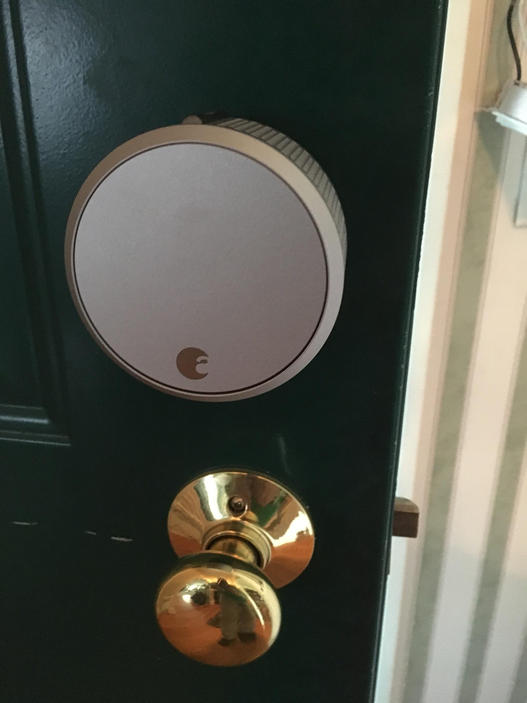 August Home Smart Lock Installed