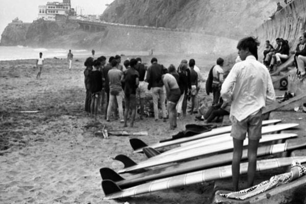 Surfing in the 1960s