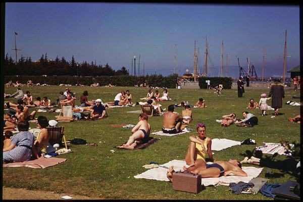 Marina Green, Fourth of July, 1940