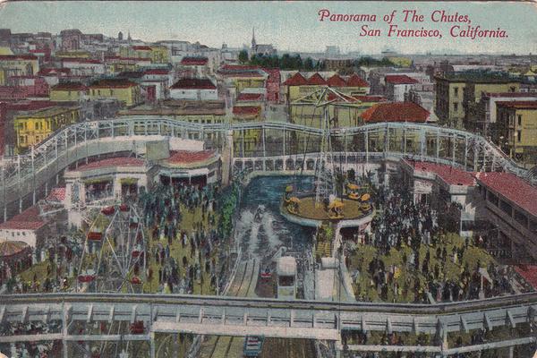 Postcard of the Fillmore Chutes